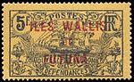 Timbre Wallis et Futuna 1920 - 5 francs.jpg
