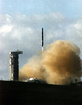 1994 in spaceflight - The launch of the Clementine lunar orbiter on a Titan 23G