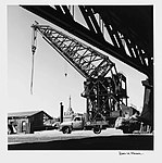 Titan floating crane and Pyrmont Bridge by David Moore (7497738256).jpg
