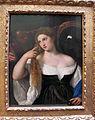 Tiziano, donna allo specchio, 1515 ca. 02 dett.JPG