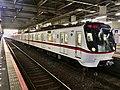 Toei Series 5300 5313F in Keisei-Takasago Station.jpg
