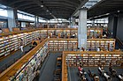 Tokamachi Information Hall north side bookshelves ac (2).jpg