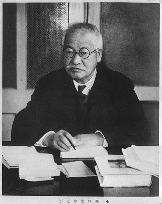 Tokutomi Sohō - Image: Tokutomi Soho
