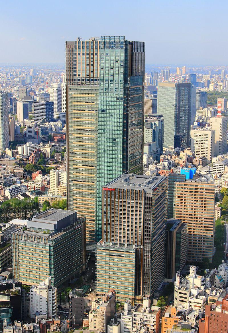 本社のある東京ミッドタウン