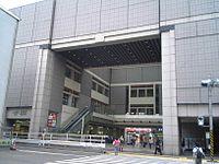 Tokyu hiyoshi station keio university side.jpg