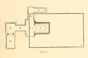 Khnumhotep III - Plan of Khnumhotep's tomb at Dahshur