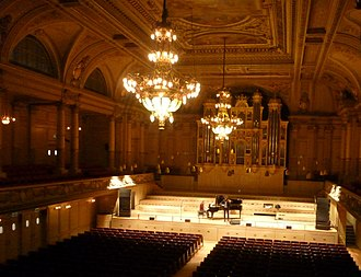 Tonhalle, Zürich - Great Hall of the Tonhalle
