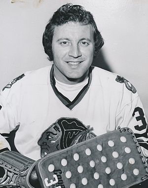 Vezina Trophy - Tony Esposito, three-time winner.