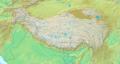 Topografic map of Tibetan Plateau.png