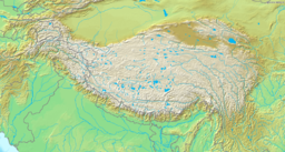 കെ2 (ഇന്ത്യ) is located in Tibetan Plateau