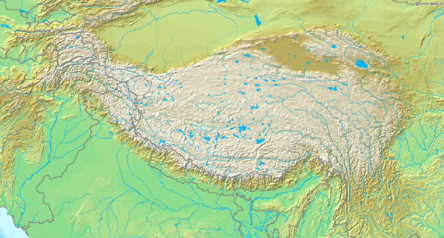 Topografic map of Tibetan Plateau.png