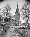 toren tijdens restauratie kerk - gorssel - 20081323 - rce