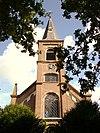 toren van de herv. kerk in scharwoude, n-h
