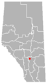 Torrington, Alberta Location.png