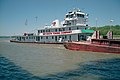 Towboat Martha Mac upbound in Portland Canal Louisville Kentucky USA Ohio River mile 605 1999 file 99d069.jpg