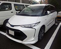 Toyota ESTIMA HYBRID AERAS PREMIUM-G (DAA-AHR20W-GFXZB) front.jpg