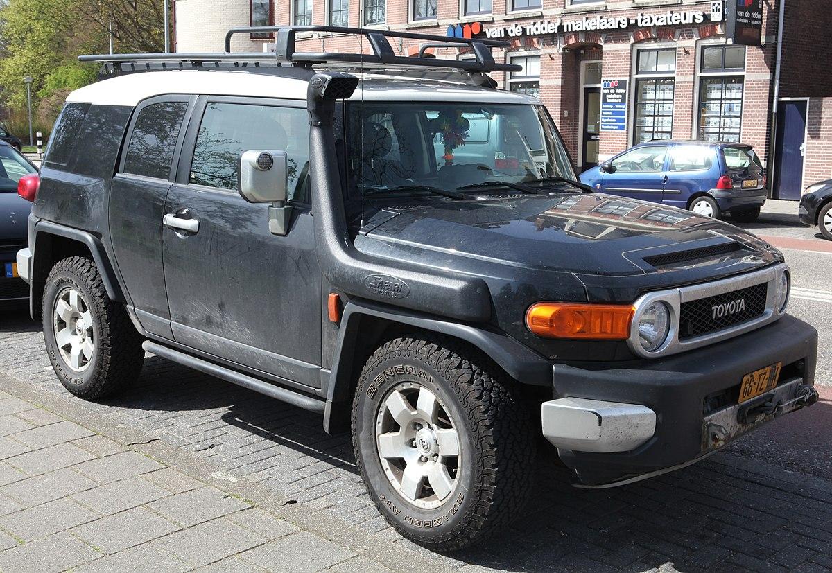 Toyota FJ Cruiser – Wikipédia, a enciclopédia livre