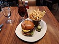 Trademark Drink and Eat, a restaurant near by the United States Patent and Trademark Office, Alexandria, Virginia - Trademark Burger (2018-10-22 by Kazuhisa OTSUBO).jpg