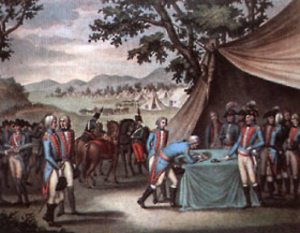 Treaty of La Jaunaye - Signing the Treaty of La Jaunaye