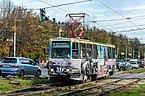 Tram 71-605 in Yaroslavl 01.jpg