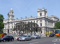 The Treasury, Whitehall