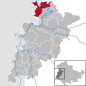 Treffurt - Image: Treffurt in WAK