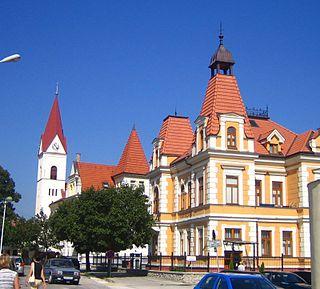 Trenčianske Teplice Town in Slovakia
