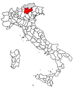 Mattarello - Location of Trentino