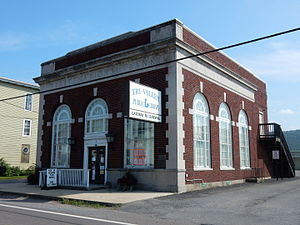 Hegins Township, Schuylkill County, Pennsylvania - Tri-Valley Public Library in Hegins.