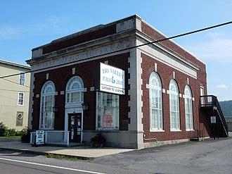 Hegins, Pennsylvania - Image: Tri Valley Public Library, Hegins PA