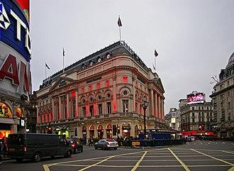 London Trocadero - The old London Pavilion Theatre