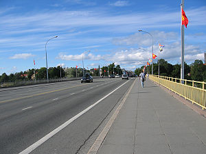 Elgeseter Bridge - Image: Trondheim elgeseterbru 2