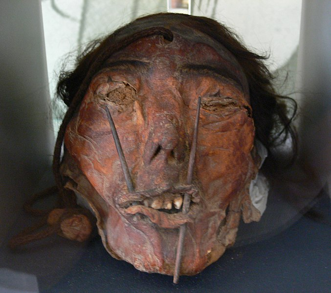 Trophy Heads Nazca Culture