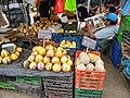 Trujillo Peru- Solanum muricatum and melons for sale.jpg