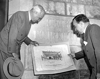 Temple University - President Harry S. Truman visits Temple University