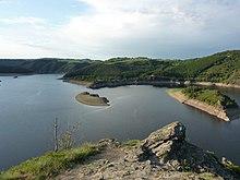 Truyère e lago di Grandval