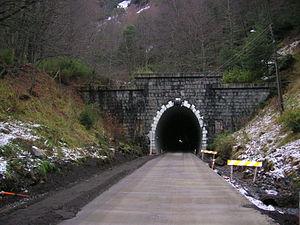 Las Raíces Tunnel - Entrance to Las Raíces Tunnel