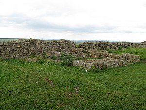 Milecastle 35 - Remains of Turret 35A