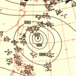 Typhoon Ruth analysis 12 Oct 1951.png