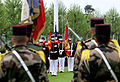U.S. Marines with the 5th Marine Regiment participate in a Memorial Day ceremony May 26, 2013, at the Aisne-Marne American Cemetery and Memorial in Belleau, France 130526-M-XI134-022.jpg