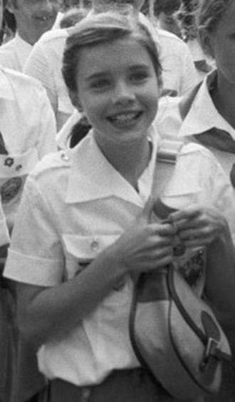 Samantha Smith - Smith visiting the Artek pioneer camp in July 1983