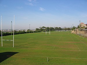 Ikey Tigers - The rugby fields at UCT
