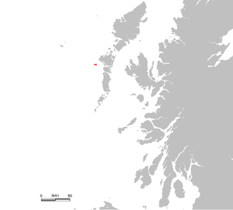 Monach Islands - Location of the Monach Islands
