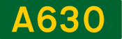 A630 road shield