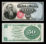 fifty-cent fourth-issue fractional note