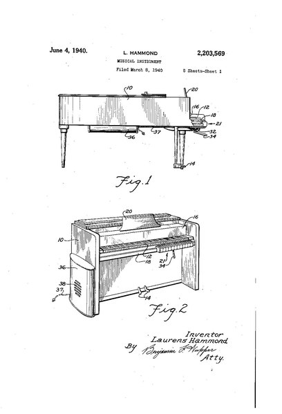 File:US2203569A Musical Instrument (1940-03-08 filed, 1940-06-04 published) by Laurens Hammond - Solovox.pdf