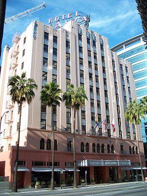 English: De Anza hotel. 233 West Santa Clara S...