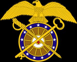 Warren Whitside - Image: USA Quartermaster Corps Branch Insignia