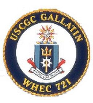 NNS Okpabana - Image: USCGC Gallatin logo