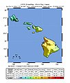 USGS Shakemap - 2006 Hawaii earthquake.jpg